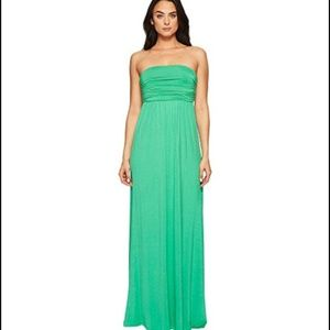 Culture Phit Hally Green Maxi Dress